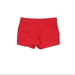 J Crew Chino Red Shorts